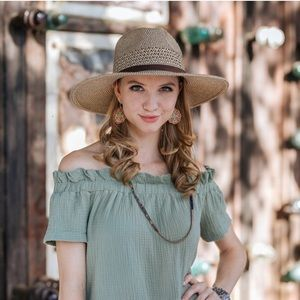 Accessories - Brown Classic Panama Hat